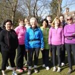 Power Walking with Sevenoaks Ladies Joggers