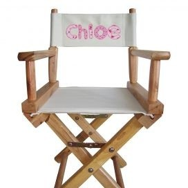 Personalised Childrenu0027s Directors Chair