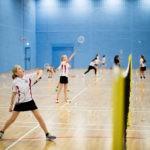 Walthamstow Hall Year 7 Badminton
